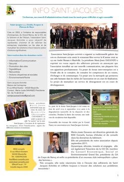 Info Saint-Jacques